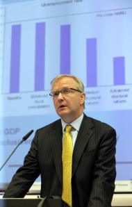 Olli Rehn, Member of the European Commission in charge of Economic and Monetary Affairs