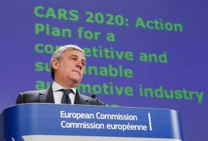 Antonio Tajani, European Commission Vice-President, responsible for Industry and Entrepreneurship.