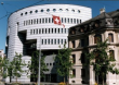 Bank of International Settlements building Aeschenplatz 1, Basel, Switzerland.