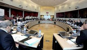 General view of the participants in the seminar on Public Investment Banks, organised by the Bureau of European Policy Advisers (BEPA), 22/01/2013. (EC Audiovisual Library).