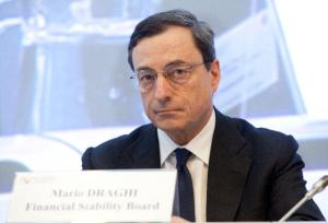 Mario Draghi, Governor of the European Central Bank and Chairman of the Financial Stability Board.