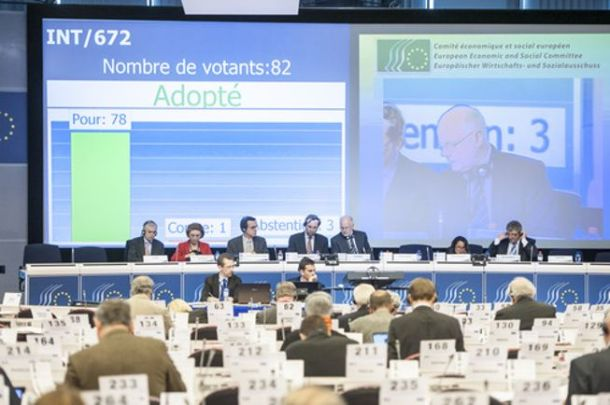 EESC Plenary session of 20-21 March 2013. (EESC Audiovisual library).