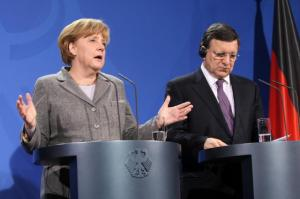 José Manuel Barroso, President of the European Commission was invited to Berlin, where he took part in a discussion on European competitiveness with Members of the European Roundtable of Industrialists (ERT) and Angela Merkel, German Federal Chancellor. Audiovisual Services, 18/03/2013).