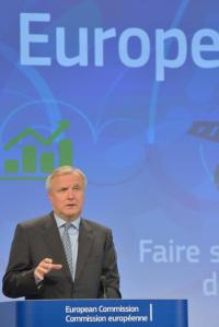 Olli Rehn, Vice-President of the EC in charge of Economic and Monetary Affairs and the Euro, (EC Audiovisual Services, 29/5/2013).