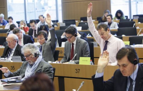 European Parliament Committee on Budgetary Control - Discharge vote. (European Parliament audiovisual service 19/03/2013).