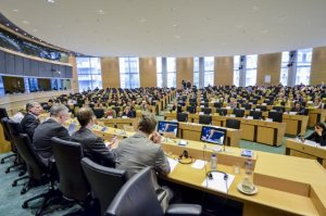 European Parliament ENVI committee meeting. Committee on the Environment, Public Health and Food Safety. Discussion with European commissonner in charge of Health and Consumer Policy, on horsemeat in the EU food chain, (Europeann Parliament audiovisual services 28/02/2013)