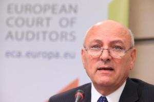 Press conference by Louis Galea, Member of the European Court of Auditors, on the ECA special report on European statistics, (EC Audiovisual Services).