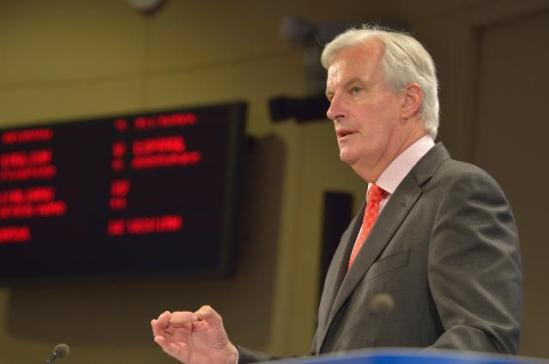 Michel Barnier, Member of the EC in charge of Internal Market and Services, delivered today a Press conference on an European Commission's proposal for a Single Resolution Mechanism to deal with failing banks which will complement the Single Supervisory Mechanism (SSM)(EC Audiovisual services, 10/7/2013)