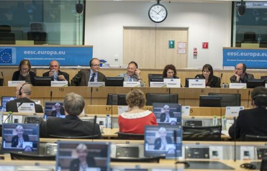 European Economic and Social Committee. Labour Market Observatory Meeting in session. (EESC photographic library, 12 June 2013)