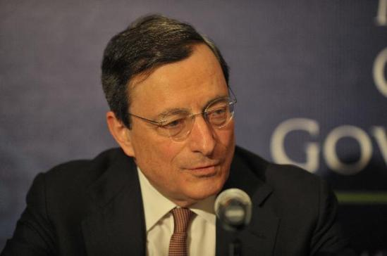 Mario Draghi, President of the European Central Bank (ECB) gave a press conference on the meeting of the G20 central bankers (EC Audiovisual Services, 25/02/2012).
