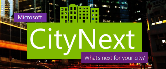 Microsof CityNext: 7-8 October 2013, An official side event of the 11th European Week of Regions and Cities