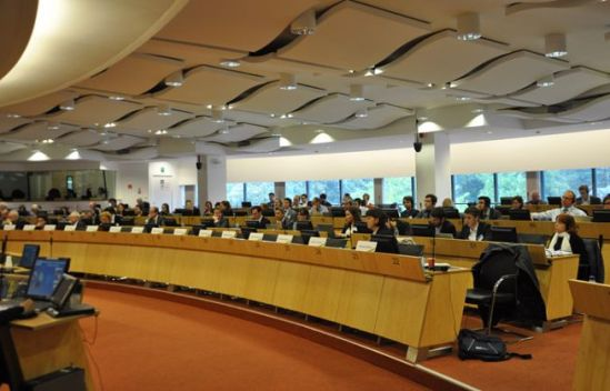 "European Economic and Social Committee. Seminar on ""Future energy and climate framework and civil society"". (EESC photographic library, 25/10/1013)."