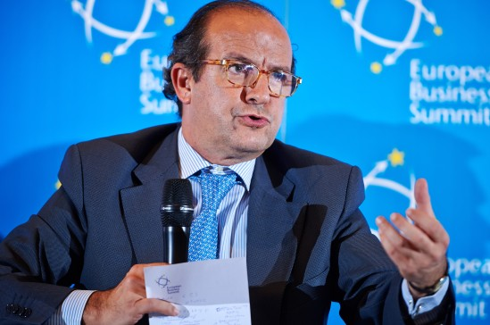 Daniel Calleja Crespo, Director-General for Enterprise and Industry at the European Commission. European Business Summit Launch Event 2014, Square - Brussels Meeting Centre (EBS)