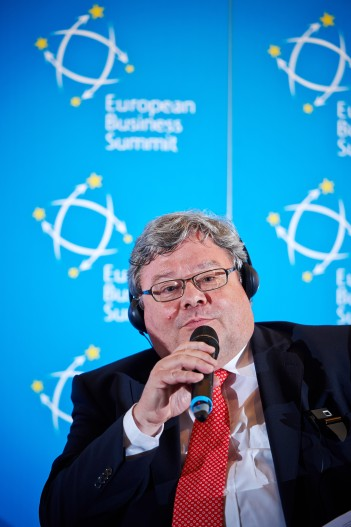 Reinhard Butikofer, MEP, Group of the Greens/European Free Alliance. European Business Summit Launch Event 2014, Square - Brussels Meeting Centre (EBS)