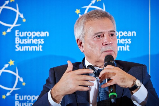Vagit Alekperov, President of Lukoil. European Business Summit Launch Event 2014, Square - Brussels Meeting Centre  (EBS)