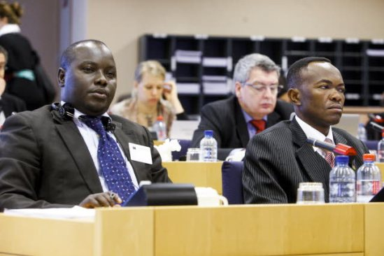 European Parliament. Subcommittee on Human Rights (DROI). Meeting. South Sudan: Enhancing capacities for human rights. A delegation from this country was present in the room. (EP Audiovisual Services 19/03/2013).