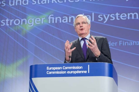 Michel Barnier, Member of the European Commission in charge of Internal Market and Services, gave a press conference on the proposals regarding the structural reform of the EU banking sector. (EC Audiovisual Services, 29.1.2014).