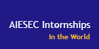 aiesec banner internships world