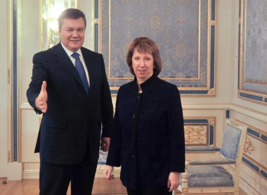 Catherine Ashton, High Representative of the Union for Foreign Affairs and Security Policy and Vice-President of the EC, went to Kyiv where she met with representatives of the Ukrainian opposition. The Vice-President then met with Viktor Yanukovych, President of Ukraine. (EU Audiovisual Services, 5/2/2014).