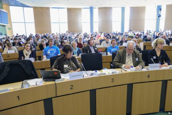 European Parliament. Public Hearing on the European Citizens' Initiative 'Right2Water'. (EP Audiovisual Services, 17/2/2014).
