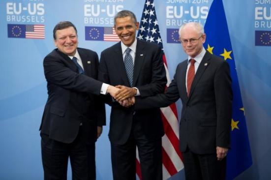 obama EU US Summit