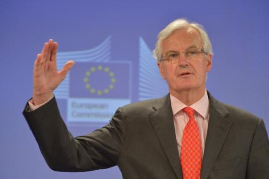 Press conference by Michel Barnier, Member of the European Commission, on the establishment of a Single Resolution Mechanism for the Banking Union. (EC Audiovisual Services).