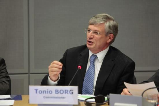 Tonio Borg, Member of the EC in charge of Health, and Maria Damanaki, Member of the EC in charge of Maritime Affairs and Fisheries, participated in the High-Level Group meeting on Administrative Burdens.