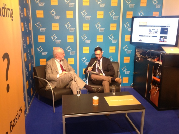Pedro Nunes' exclusive interview by Carlo Motta at the Sting's pavilion during EBS 2014