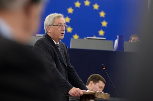 European Parliament, Plenary session week 29 2014 - Statement by Jean-Claude Juncker President of the Commission elect. (EP Audiovisual Services, 15/07/2014).