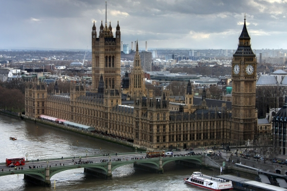 Westminster Palace, hosting the House of Lords