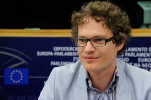 Emanuel Alfranseder represents the Erasmus Student Network in the Advisory Council on Youth of the Council of Europe
