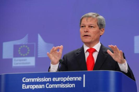 Dacian Cioloş, Member of the EC in charge of Agriculture and Rural Development, in a press conference following the Russian import ban on EU agricultural products (EC Audiovisual Services, 03-09-2014)