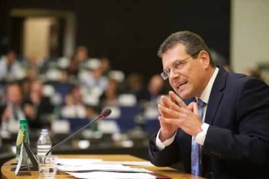 Maroš Šefčovič, Vice-President designate of the EC in charge of the Energy Union, was auditioned by the Committee on Industry, Research and Energy (ITRE) of the EP. Let's hope that he will drive us safe and smooth to the Energy Union (EC Audiovisual Services, 20/10/2014)