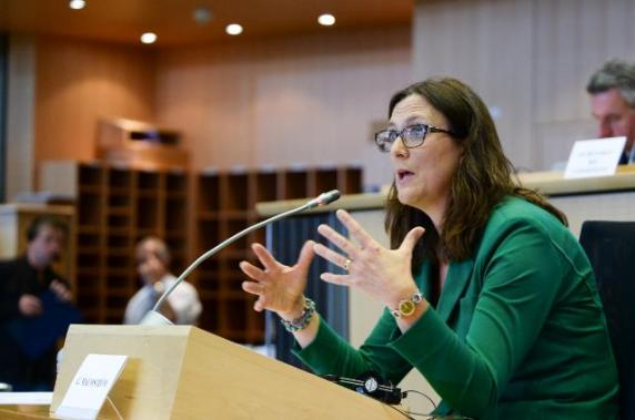 Cecilia Malmström, Member designate of the EC in charge of Trade, was auditioned by the Committee on International Trade (INTA) of the EP. (EC Audiovisual Services, 29/09/2014)