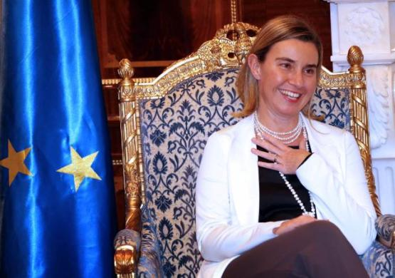 Federica Mogherini, High Representative of the Union for Foreign Affairs and Security Policy and Vice-President of the EC, went to Baghdad were she was welcomed by Nazar Al-Kheer Allah, Iraqi Undersecretary for Bilateral Relations (EC Audiovisual Services, 22/12/2014).