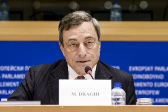 Mario Draghi looks determined to apply Quantitative Easing in 2015, at the EP Committee on Economic and Monetary Affairs Monetary Dialogue, last November. Mario Draghi is the President of the European Central Bank (EP Audiovisual Services, 17/11/2014)