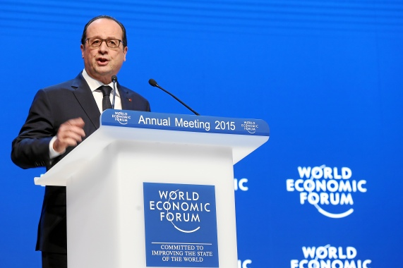 Francois Hollande, President of France (WEF, 23/01/2015)