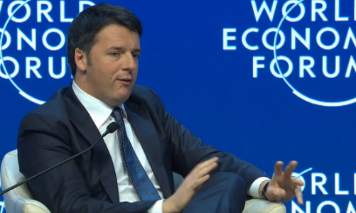 Matteo Renzi click at #WEF