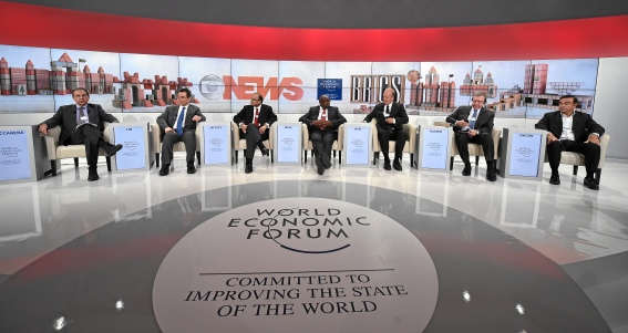 The BRICS Agenda session (WEF, 22/01/2015)