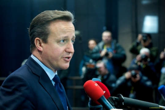 Mr David Cameron, UK Prime Minister at the last EU Council last December (Council TVnewsroom, 18/12/2014)