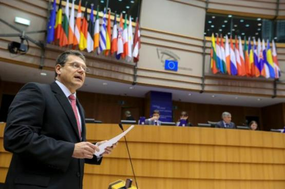Maroš Šefčovič, Vice-President of the EC in charge of Energy Union, participated in the EP plenary session, in the presence of Jean-Claude Juncker, President of the EC. It was there where he presented his strategy for the EU Energy Union. (EC Audiovisual Services, 27/02/2015)