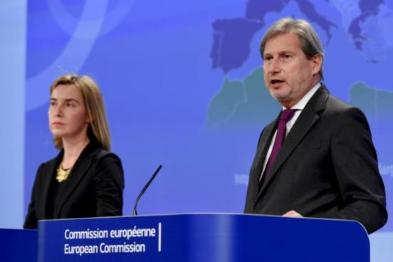 Federica Mogherini, High Representative of the Union for Foreign Affairs and Security Policy and Vice-President of the EC, and Johannes Hahn, Member of the EC in charge of European Neighbourhood Policy and Enlargement Negotiations, gave a joint press conference on the launch of a consultation on the future of the European Neighbourhood Policy (ENP). (EC Audiovisual Services, 04/03/2015)