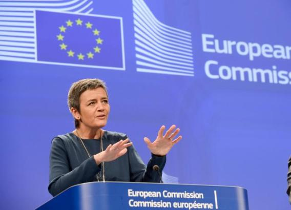 Press conference by Margrethe Vestager, Member of the EC, on the EC fines of over 19.4 million euros to five envelope producers in cartel settlement (EC Audiovisual Services, 11/12/2014)