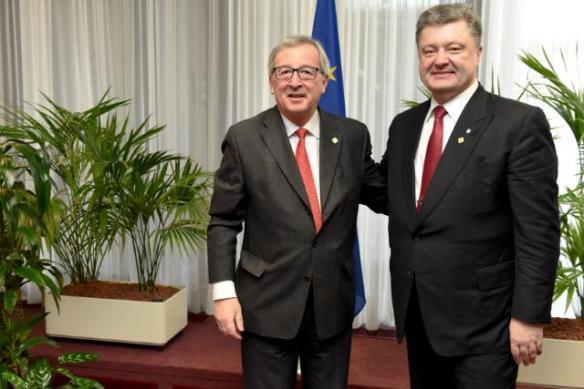 Poroshenko Juncker