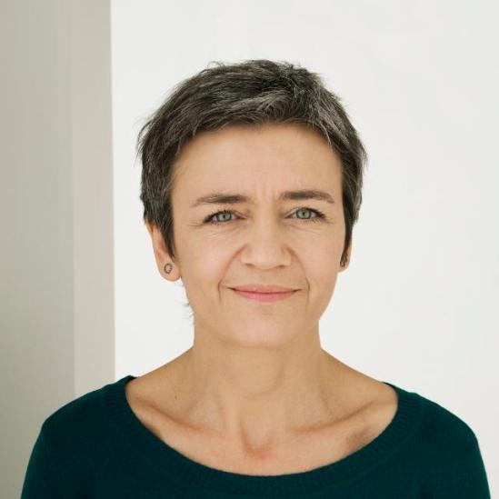 Portraits of Margrethe Vestager, Member of the EC in charge of Competition (EC Audiovisual Services, 11/12/2014)