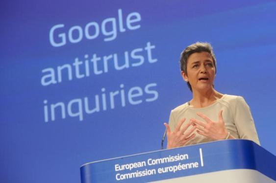 Press conference by Margrethe Vestager, Member of the EC, on the Statement of Objections to Google on comparison shopping service and the opening of a separate formal investigation on Android (EC Audiovisual Services, 15/04/2015)
