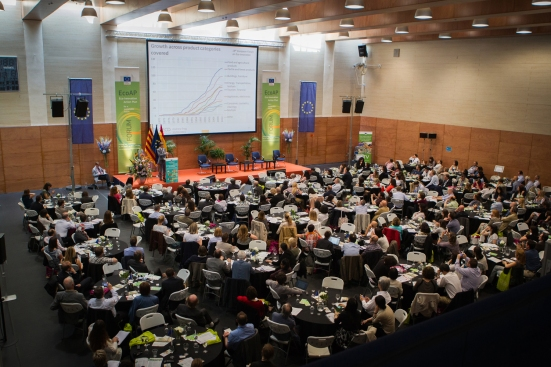 Photo was taken from the 18th European Eco-Innovation Forum that took place in Barcelona on 20-22 May 2015. (European Sting)