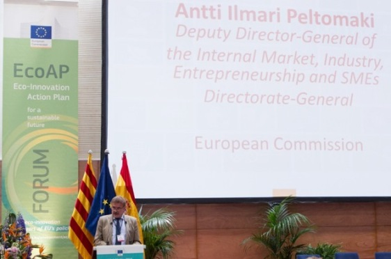 Mr Antti Ilmari Peltomaki, Deputy Director-General of the Internal Market, Industry, Entrepreneurship and SMEs, Directorate General of the European Commission (European Sting)