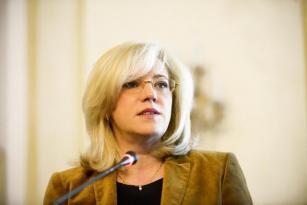 Commissioner Corina Cretu, responsible for Regional Policy (European Commission)