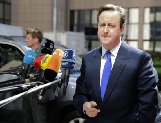 Mr Cameron is surely undergoing some big stress in view of Thursday's elections. This photo of Mr Cameron, UK's current Prime Minister is taken at last EU Council in April (Council TVNewsroon, 23/04/2015)